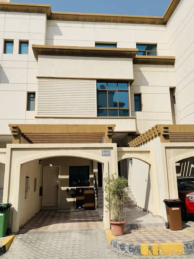 3 Bedroom Villa for Rent in Al Salam Street, Abu Dhabi - Extra Ordinary 3 Bedrooms, Big Hall & Maid Room Villa, with sharing Gym & Swimming Pool in Compound