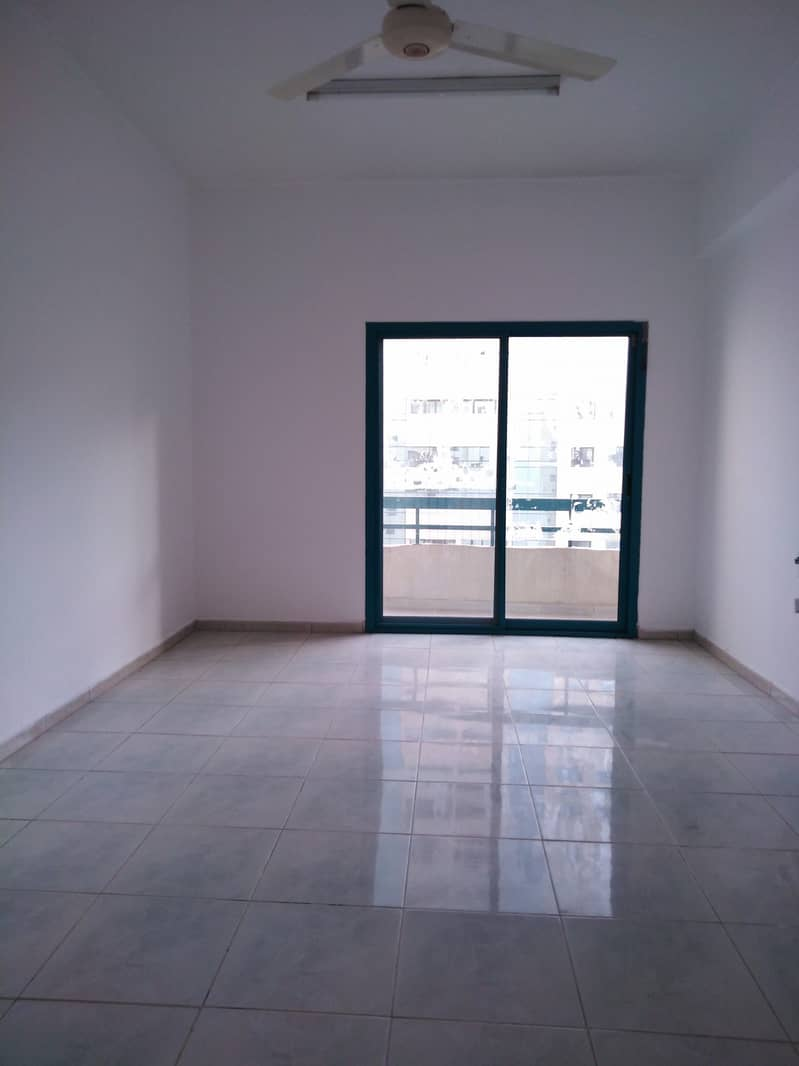 12 Cheques Payments **Central Ac ** 2 B H K with Close Hall rent only 21500 with Balcony in Al Qasimia with Open View