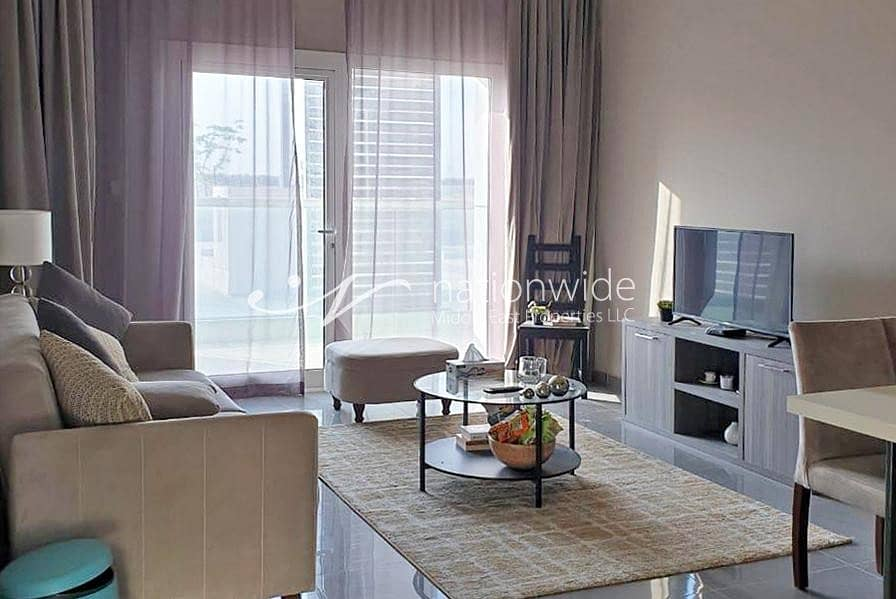 2 Discerning Fully Furnished 1 BR Apartment In Leonardo Residences