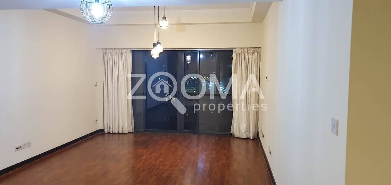 Full Lake View | 2BR with Maid & Balcony