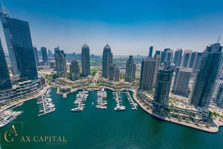 1 Bedroom Flat for Sale in Dubai Marina, Dubai - Dubai Marina View | Maid's Room | Balcony