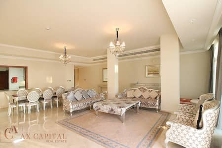 4 Bedroom Apartment for Sale in Palm Jumeirah, Dubai - Sea View | Maid's Room | Fully Furnished