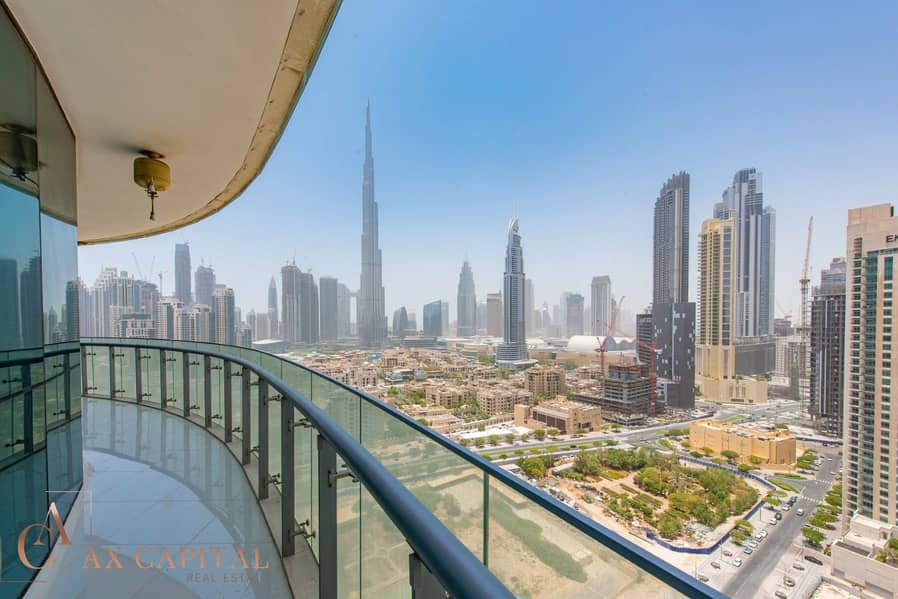 11 Burj Khalifa View | Balcony | Furnished