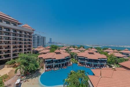 فلیٹ 2 غرفة نوم للايجار في نخلة جميرا، دبي - Resort Palm View | Beach Access | Fully Furnished