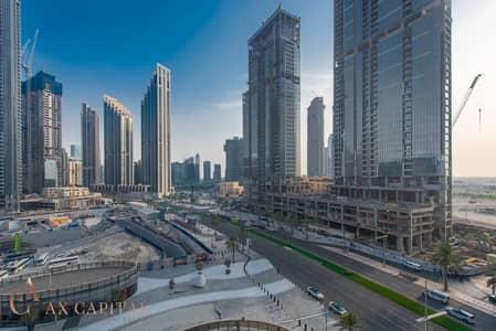 فلیٹ 1 غرفة نوم للايجار في وسط مدينة دبي، دبي - Close to Dubai Opera | City View | Unfurnished