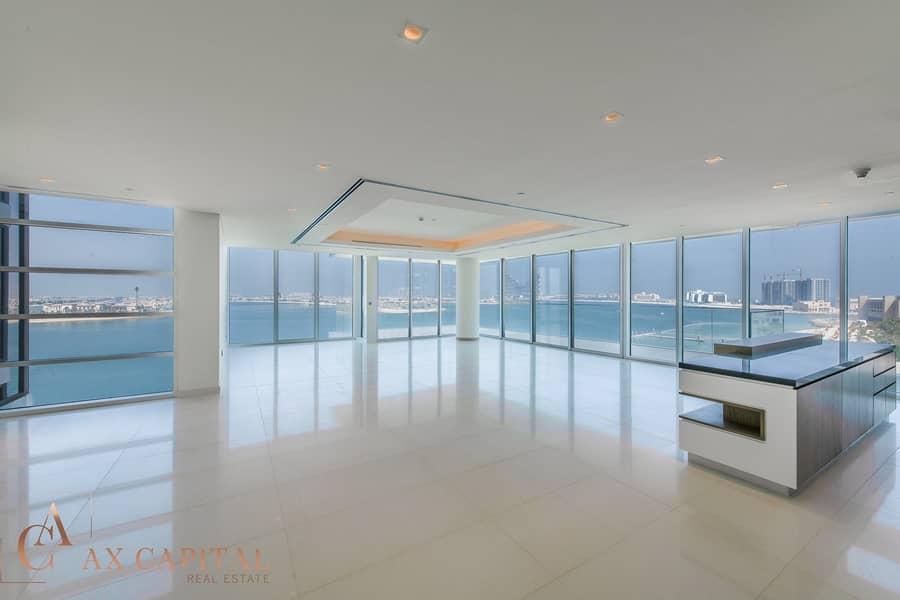 2 Panoramic Palm View | Half-Penthouse