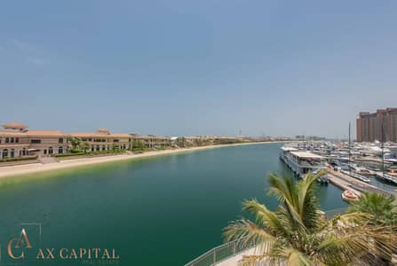 Studio for Rent in Palm Jumeirah, Dubai - Fully Furnished | Water View | Balcony