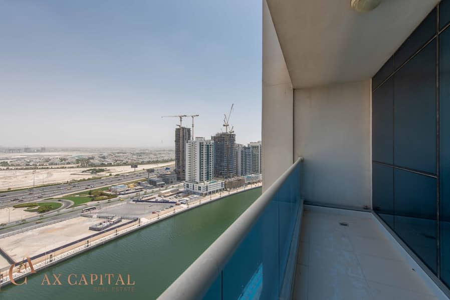 Balcony | Canal View | Unfurnished