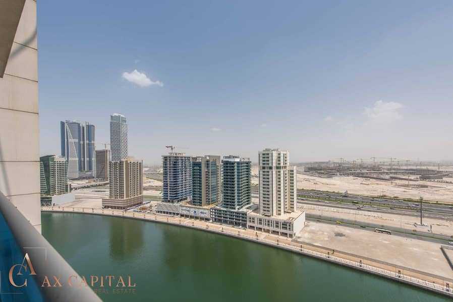 2 Balcony | Canal View | Unfurnished