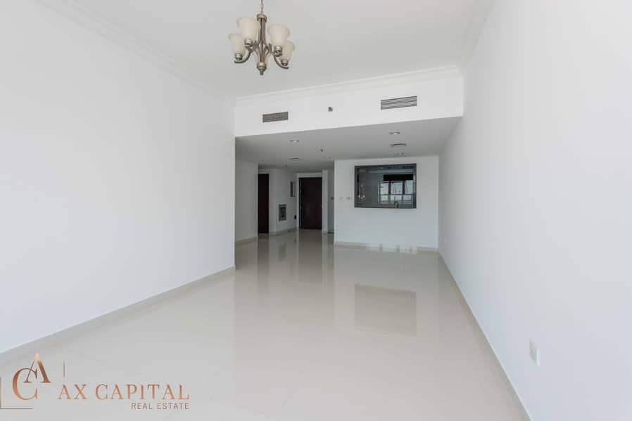 1 Canal View | Three Balcony | Unfurnished