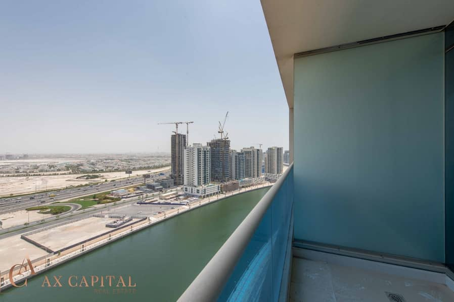 12 Canal View | Three Balcony | Unfurnished