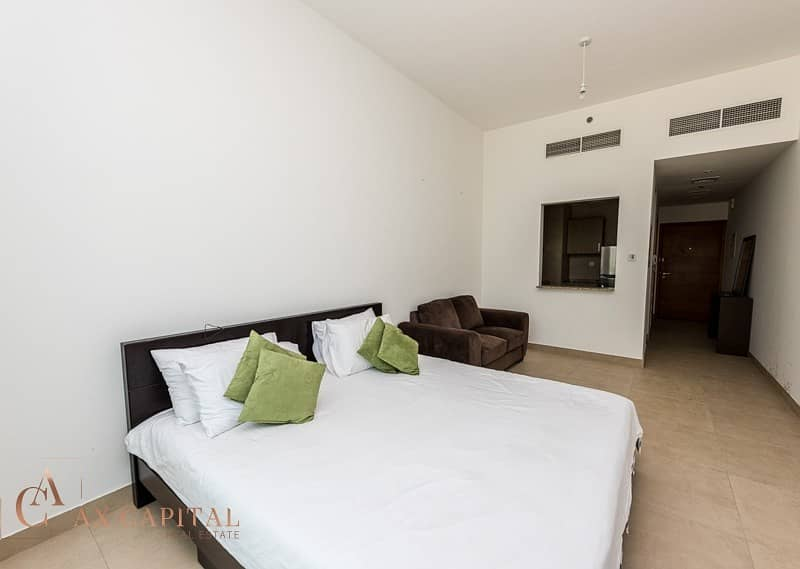 Fully furnished | Studio | Spacious