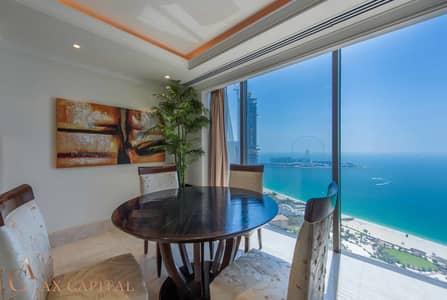 بنتهاوس 1 غرفة نوم للايجار في جميرا بيتش ريزيدنس، دبي - Penthouse | Luxury Furniture | Upgraded