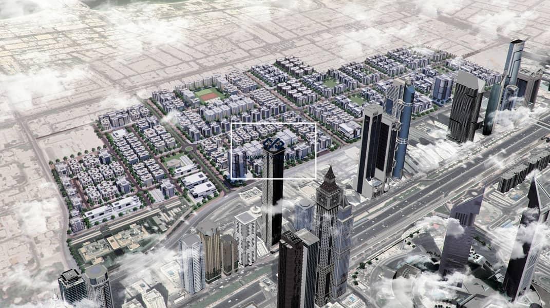2 Freehold Development Plots next to City Walk