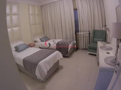 2 Bedroom Flat for Rent in Downtown Dubai, Dubai - FREE AC  Luxurious 2BR in The Signature Downtown|Call Now! 1 Payment ONLY