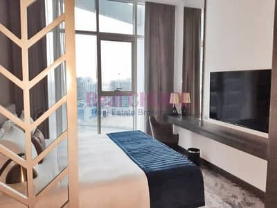 Studio for Rent in Business Bay, Dubai - Fully Furnished Studio Prive B|Brand New