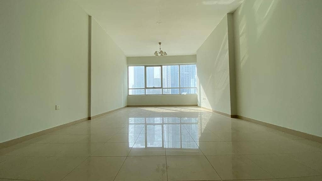 1850sqft 2bhk in al Taawun rent only 33k with 1month free