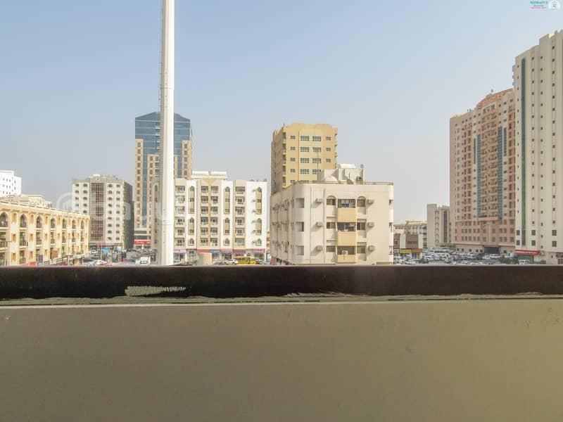 14 Spacious 1 B/R Hall Flat With Balcony behind Mega Mall
