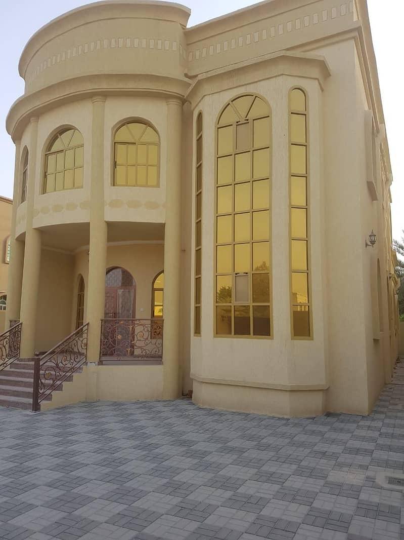 Villa for rent in Ajman, Al Rawda 2 area, consisting of two floors