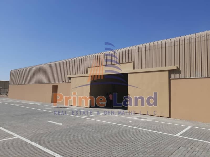2 1000sqm Warehouse -300KW  Electricity power