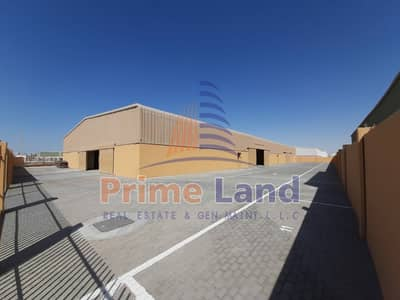 Warehouse for Rent in Mussafah, Abu Dhabi - 1000sqm Warehouse -300KW  Electricity power