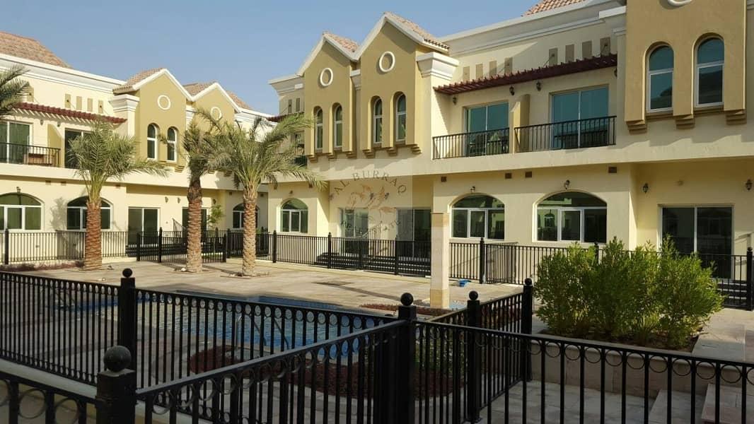 Spacious 3 bedroom plus maid room Villa in Sahara Meadows
