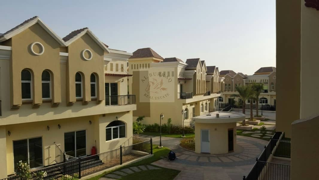 2 Spacious 3 bedroom plus maid room Villa in Sahara Meadows