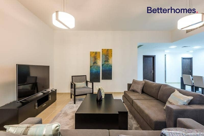2 Upgraded | Furnished | Vacant | Marina View