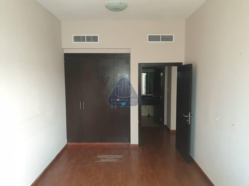 Wooden floor  1BR Apartment with Balcony For Rent