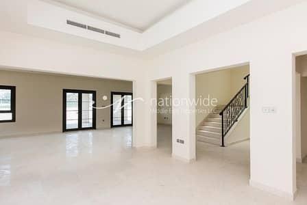 3 Bedroom Villa for Sale in Al Salam Street, Abu Dhabi - Timeless Elegance Quadplex Villa with Garden