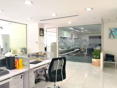 Office for Sale in Business Bay, Dubai - Fitted Office | 3 Parkings | Sobha Sapphire | Business Bay