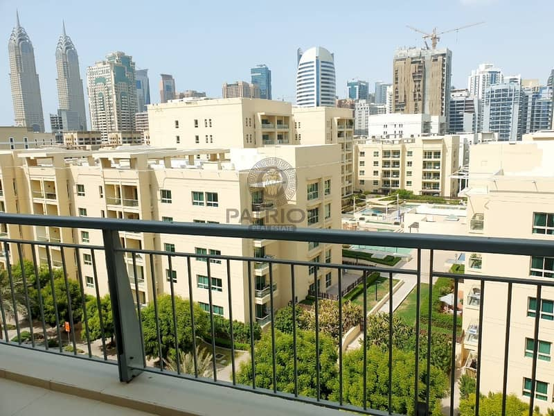 Nice 1 BR | Big Balcony | Chiller Free | Ready  To Move