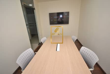 Shared Private Office - Only Three Desks in Room - Lockable Room and Cabinets