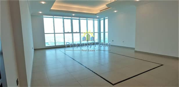 3 Bedroom Apartment for Rent in Tourist Club Area (TCA), Abu Dhabi - Amazing Corniche View | Large 3-bedroom Unit | Maids Room | Facilities | Mina Road