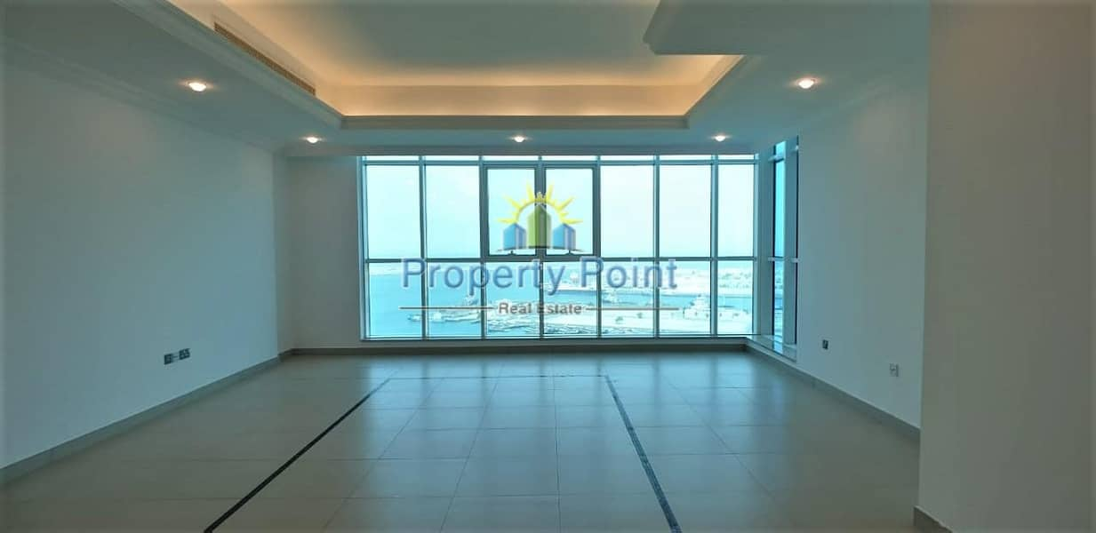 2 Amazing Corniche View | Large 3-bedroom Unit | Maids Room | Facilities | Mina Road