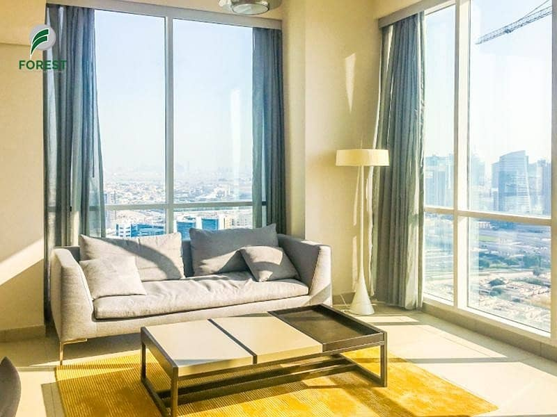 Fully Furnished | Sea View | 2 Beds | Vacant