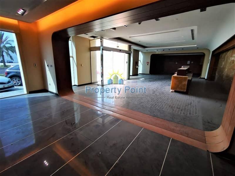 2500 SQM Showroom | Ground & Mezzanine Floor | Al Nahyan Area
