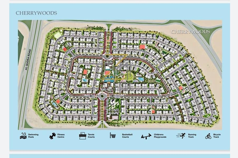 10 luxury townhouse 3 BD for 6 years payment plan