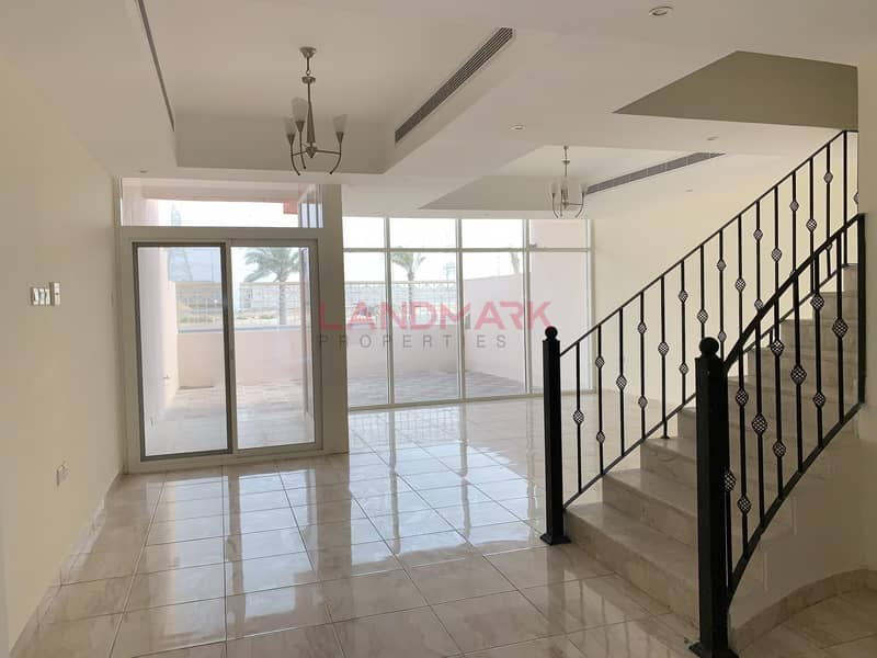 Huge Villa   3BR w/ Maid Room @ AED 80K