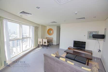 شقة 2 غرفة نوم للايجار في مدينة دبي الرياضية، دبي - Fully Furnished | High Floor | Golf View