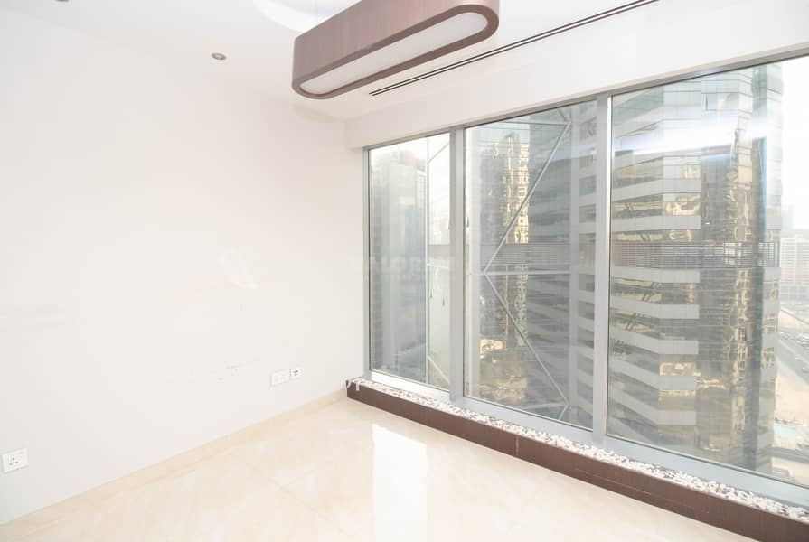 2 fitted with partition office for rent in Business Bay