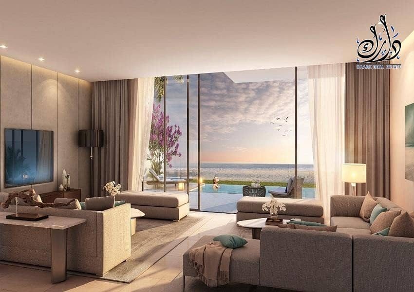 Own your villa now in the Sharjah Waterfront Resort
