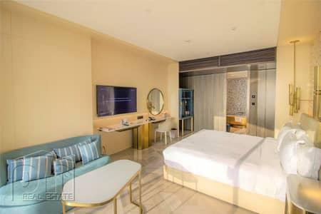 شقة فندقية 1 غرفة نوم للبيع في نخلة جميرا، دبي - Hotel Suite | Pool and Sea View | Luxury