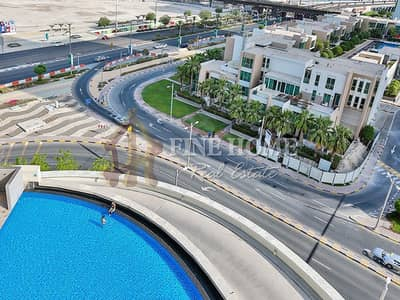 2 Bedroom Flat for Sale in Al Reem Island, Abu Dhabi - Ready To Move Now ! 2 BR  Ap with Pool View