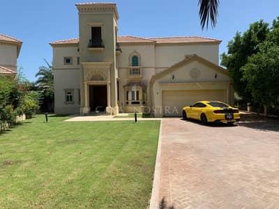 فیلا 4 غرف نوم للبيع في جزر جميرا، دبي - Vacant Partial Upgraded Corner Villa  Lake View