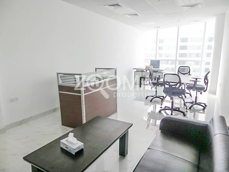 Fully Furnished Office |High Floor