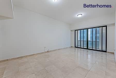 فلیٹ 1 غرفة نوم للايجار في شارع الشيخ زايد، دبي - Unfurnished Unit | Balcony | SZR