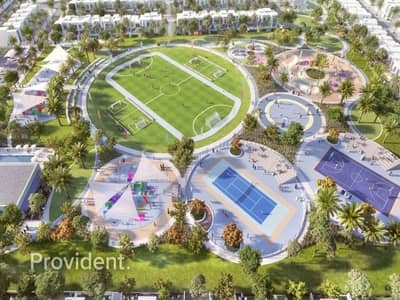 3 Bedroom Townhouse for Sale in The Valley, Dubai - Completion in Q4 2022   The Valley   5% on Booking