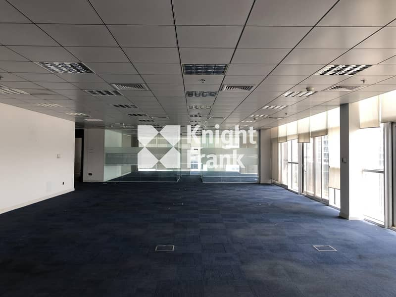 Fitted Office Space for Lease / Muroor Road Abu Dhabi