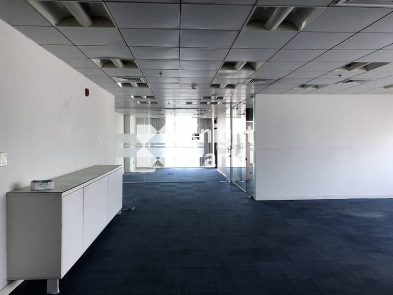 2 Fitted Office Space for Lease / Muroor Road Abu Dhabi